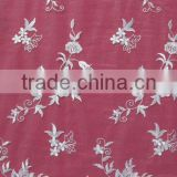 Floral Embroidery Mesh Lace Fabric
