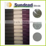 Panel curtain glide effortlessly on carrier track solar control light filtering sunscreen for sliding doors & patio doors