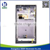 Original LCD with Touch Screen for Nokia Lumia 925 LCD Digitizer with frame Assembly