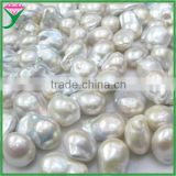 wholesale 10-20mm white loose freshwater pearl baroque pearl