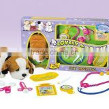 Pet medical set toy toy pet plastic carriers
