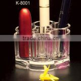 Acrylic Makeup Organizer, Lipstick holder, clear design helping you to pick up your color easily