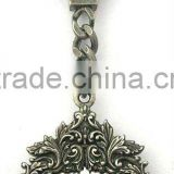novelty vintage mirror key chain supplier,passed factory audit, customized design accept