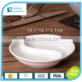 High quality small Hot Selling Made In China white porcelain sauce dishes