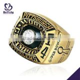 Wholesale customized brass Championship ring 1974 Pittsburgh Steelers Super Bowl World Champions ring