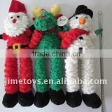 JMP004 pet plush toys for Christmas