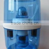 Family use underground water purifier on the water dispenser
