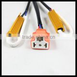 No error Canbus Dual Resistor wire for h4 Hi / Lo beam bulb LED Lamp Decoder Error Free h4 hi/lo adapter Warning canceller