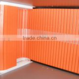 PVC colorful roller shutters