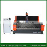 Heavy Duty Stone Engraving CNC Router 1300*2500mm With Yaskawa Servo Motor DSP Offline Control 5.5Kw Spindle ZK-1325