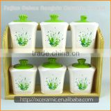 China Wholesale High Quality spices container condiment set