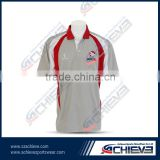 Custom made team logo/name cricket jersey sublimation printing