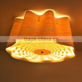 Hot selling hotel led wood ceiling lamp,Hotel led wood ceiling lamp,Wood ceiling lamp C1009-60                                                                                                         Supplier's Choice
