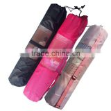 Large Yoga Mat Carry Bag for Men and Women With Adjustable Strap Drawstring Opeing Mesh Centre Easy Store Keep Clean