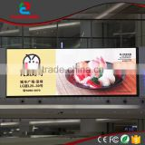 p7.62 die-casting aluminum cabinet high definition led flaxibale display for shopping mall