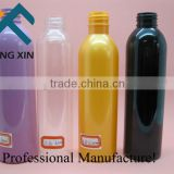 personal care industrial use screen printing and boston round shaped PET plastic water bottle with sprayer pump