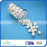(15mm-50mm )Alumina perforated ceramic ball for catalyst covering and supporting material