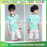 Wholesale New Children's Polo T-shirt Boys Short Sleeves T shirts Children's Clothing
