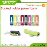 2015 New arrival easy life of power bank 2600mah marvel power bank suction cup power bank for iphone5