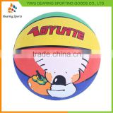 Newest selling simple design ball basketball manufacturer sale