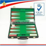 new design professional leather backgammon set