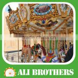 [Ali Brothers] Children Palace Amusement Park Horse Rides Kiddie Carousel/Merry Go Round for Sale