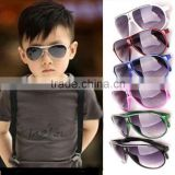 Stylish Cool Child Kids Boys Girls Aviator UV400 Sunglasses Shades Baby Goggles