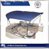 waterproof fabric stainless steel bimini top