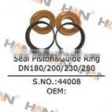 Seal piston & guide ring DN 180/200/230/280 for putzmeister concrete pump spare parts sany schwing cifa junjin