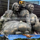 MY Dino-C075 Outdoor decorative bronze statues for sale