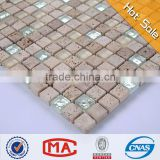 travertine marble broken china mosaic mosaic stone silver mirror mosaic vases