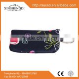 RE127 Hot Sale Flower Printed multiple key chain card holders