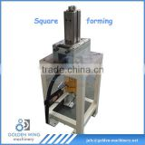 hydralic square forming machine for olive cooking oil metal tin can sardine line packing machine