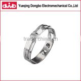wenzhou stainless steel mechanical crimp rings heat resistance spring band clamps