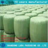China Luda made low price high quality soft green 250mm width PE grass silage wrap film roll