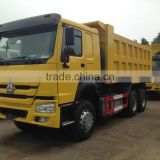 Howo truck specification truck load of sand 25t~30t tipper truck price
