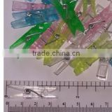 good quality clothes linked plastic peg spring clamps
