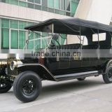 Resonable price BLAC royal 48V powerful electrical club car bubble car
