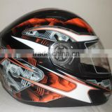 bluetooth double visor helmet/Moto cross ECE helmet /Full face bluetooth helmet/Adults Motorcycle helmet (TKH809)