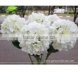 GNW FLH07 Wholesale Silk Flower Hydrangea for Wedding Table Landscpaing Artificial Flowers imported from China