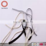 folding tape, used in garment openning,pocket ,etc.or used for piping, play the role of decorative effect,white,black,gray