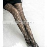 Opaque Bohemian Print Essential Fashion Tights Winter Sheer Polka Dots Bow Diamond Women Pantyhose