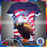 Sublimated Mens Tee Full Printing Tshirts All Over The World