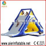 Floating Inflatable water slide inflatable water park games for adults