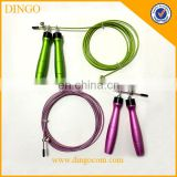 aluminium handle skipping jump rope / Fitness equipment jump rope /aluminum fitness jump rope