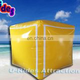 Advertising inflatable floating buoy for events