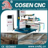 wood stair railing by cnc wood curve band saw machine from COSEN CNC