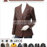leather down coat for women, HLI model coats