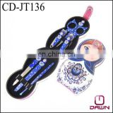 2013 Newest beauty girl manicure set cosmetic gift Mother's day Gift CD-JT136