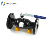 made in china autonomous marketing no leak double flange ball valve dn100